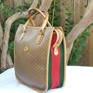 Vintage Gucci tall tote handbag